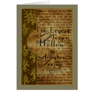 Sleepy Hollow Card