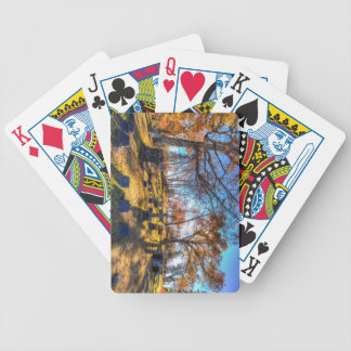 Sleepy Hollow Cemetery New York Bicycle Playing Cards