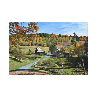 Sleepy Hollow Farm Canvas Print