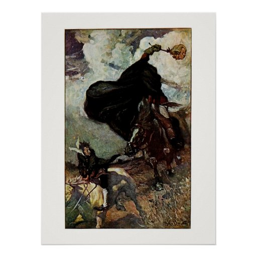 Sleepy Hollow: He Saw the Goblin Rising Poster