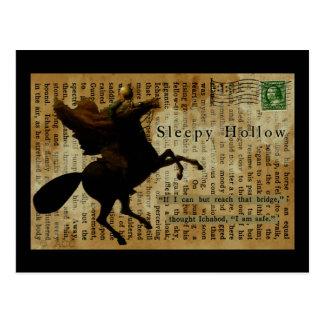 Sleepy Hollow Headless horseman 1 Postcard