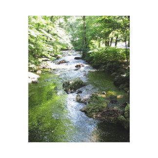 Sleepy Hollow waterway Canvas Prints