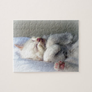 Sleepy Kitten Jigsaw Puzzle