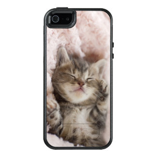 Sleepy Kitten OtterBox iPhone 5/5s/SE Case