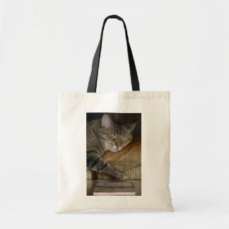 Sleepy Kitty Book Bag