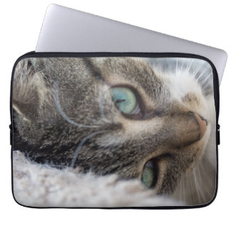 Sleepy Kitty Laptop Sleeve