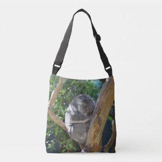 Sleepy Koala Crossbody Bag