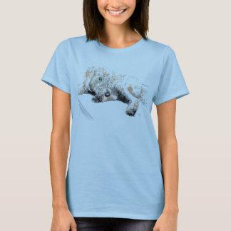 Sleepy Labradoodle T-shirt