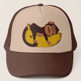 Sleepy Monkey Hat