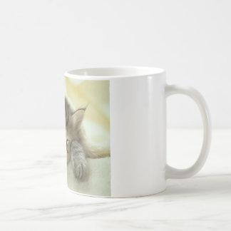 Sleepy Nap Time Kitten Mug