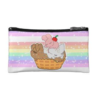 Sleepy Neapolitan Pets (Cosmetic Bag) Makeup Bags