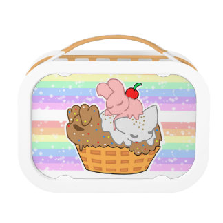 Sleepy Neapolitan Pets (Lunch Box) Lunchboxes