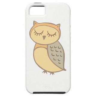 Sleepy Owl iPhone 5 Case