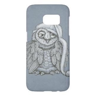 Sleepy Owl Samsung Galaxy S7 Case