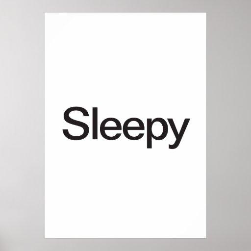 Sleepy Print