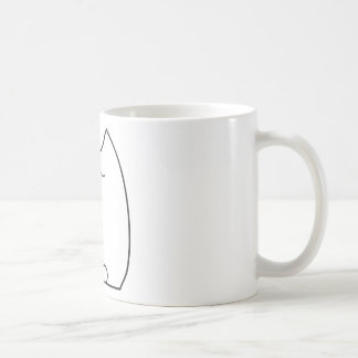 Sleepy Pretty Kitty Coffee Mug