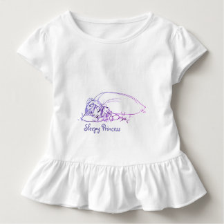 Sleepy Princess Toddler T-shirt