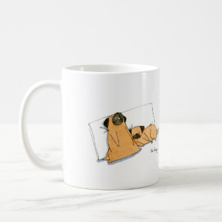 Sleepy Pugs Coffee Mug
