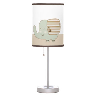 Sleepy Safari Animals Baby Nursery Lamp