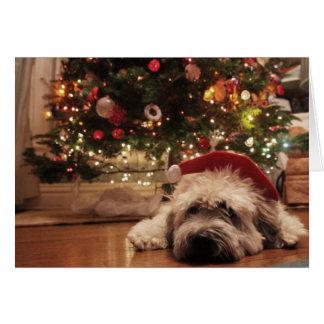 Sleepy Santa Card