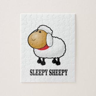 sleepy sheep jigsaw puzzle
