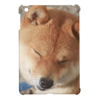 SLEEPY SHIBA iPad MINI COVER