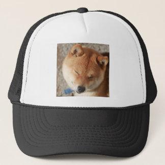 SLEEPY SHIBA TRUCKER HAT
