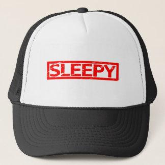 Sleepy Stamp Trucker Hat