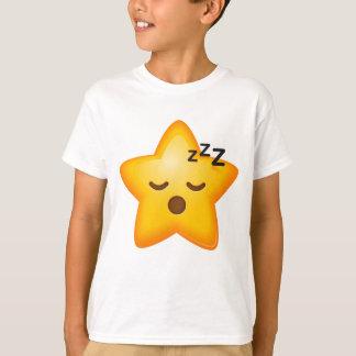 Sleepy Star Emoji T-Shirt