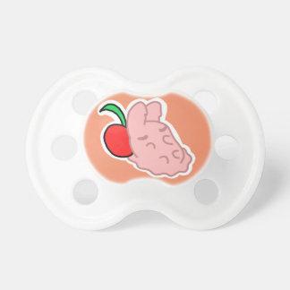 Sleepy Strawberry Bunny Pacifier