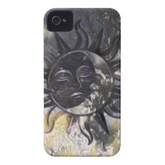 Sleepy Sun Moon Case-Mate iPhone 4 Case