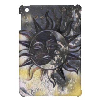 Sleepy Sun Moon iPad Mini Cover