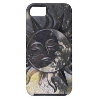 Sleepy Sun Moon iPhone 5 Case