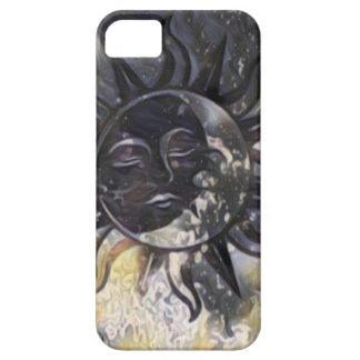 Sleepy Sun Moon iPhone 5 Cover