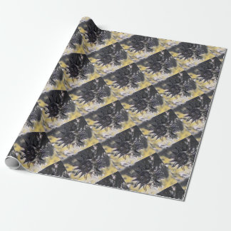 Sleepy Sun Moon Wrapping Paper