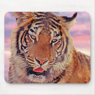 Sleepy Tiger - Mouse Pad