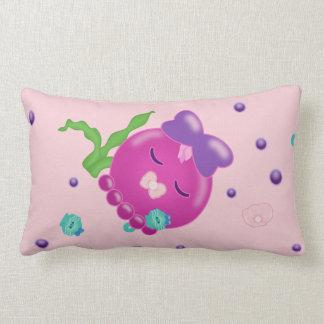 Sleepy time Baby Girl Kawaii Octopus Throw Pillows
