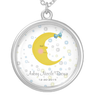Sleepy Time Birth Necklace