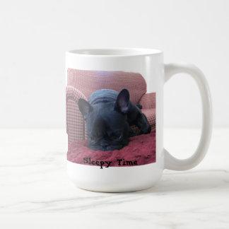 Sleepy Time French Bulldog Mug