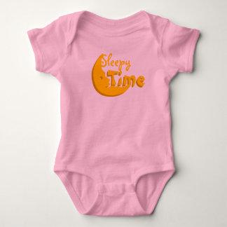 Sleepy Time Girl Pink & Yellow Onsie Pajamas T-shirt