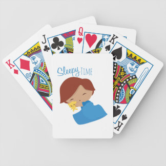Sleepy Time Bicycle Playing Cards
