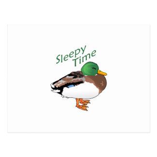 SLEEPY TIME POSTCARD