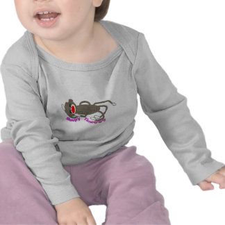"""Sleepy Time"" Sock Monkey Sleeping T Shirts"