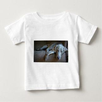 Sleepy Weimaraner Baby T-Shirt