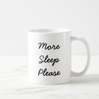 Sleepy Wolf Coffee Mug