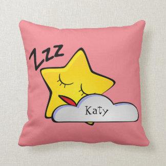 Sleepy Yellow Star Baby/Kids Pillow