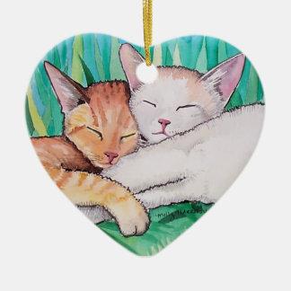 Sleepytime Cats Ornament