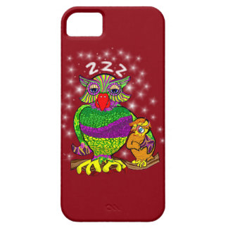 Sleepytime Owl and Baby iPhone 5 Cover