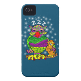 Sleepytime Owl and Baby Case-Mate iPhone 4 Case