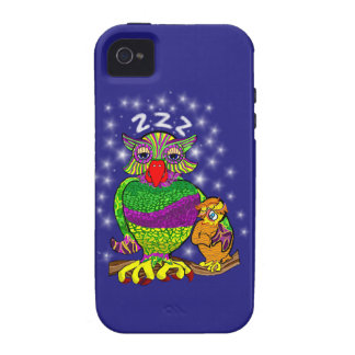 Sleepytime Owl and Baby Case-Mate iPhone 4 Cover
